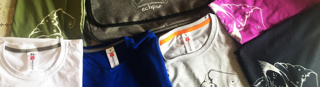 T-shirt e gadget Eclipse